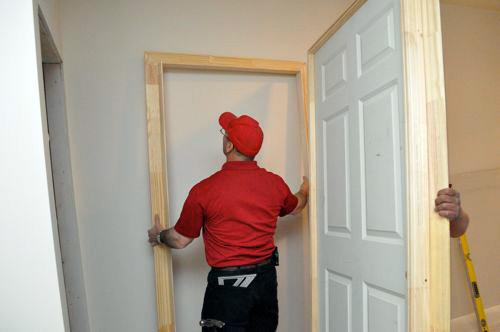 Removing the Old Door & Door installation methods Pezcame.Com